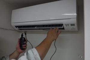 空気調和設備施工作業例1